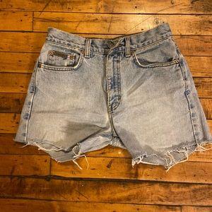 Vintage Calvin Klein Cutoff Shorts Size 5